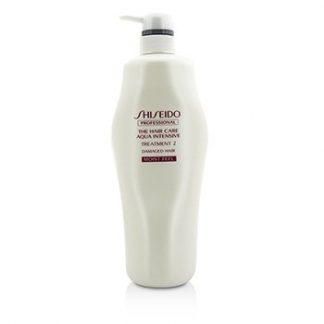 SHISEIDO THE HAIR CARE AQUA INTENSIVE TREATMENT 2 - # MOIST FEEL (DAMAGED HAIR) 1000G/33.8OZ
