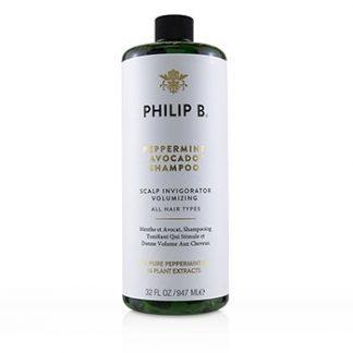 PHILIP B PEPPERMINT AVOCADO SHAMPOO (SCALP INVIGORATOR VOLUMIZING - ALL HAIR TYPES) 947ML/32OZ