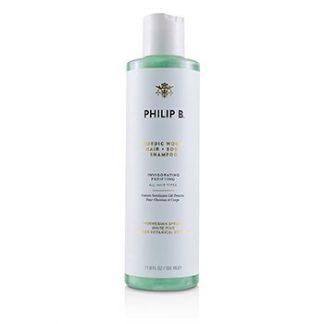 PHILIP B NORDIC WOOD HAIR + BODY SHAMPOO (INVIGORATING PURIFYING - ALL HAIR TYPES) 350ML/11.8OZ