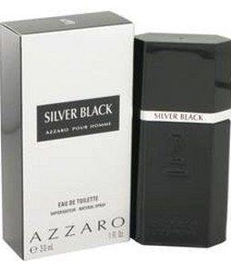 AZZARO SILVER BLACK EDT FOR MEN